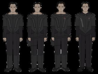 Cardassian Military - Circa 2370s (Dominion War) by JoeyLock