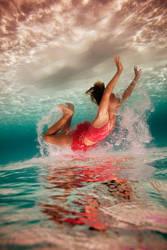 One Red Fish by SachaKalis