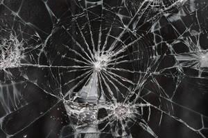 Cracked Glass Texture I by EverythingIsInStock
