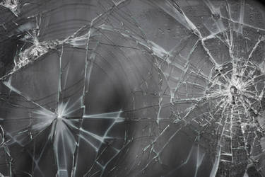 Cracked Glass Texture II by EverythingIsInStock