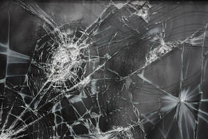 Cracked Glass Texture III by EverythingIsInStock