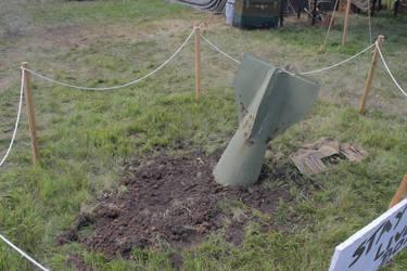 Stock 0115 - Bomb in Ground by EverythingIsInStock