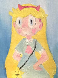 Star Butterfly (Oil Study 1) by T-babe