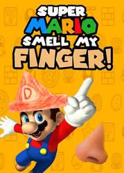 Super Mario Smell My Finger Cover by DIAMONDJOHN01