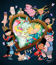 Hey Arnold! T-shirt Contest Design by Shaami