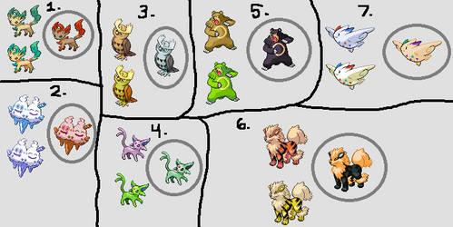 Shiny Pokemon Edits by KlutzyNinjaKitty