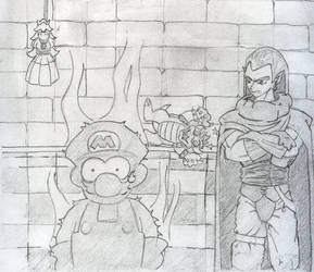 Mario and Magus by OuDes