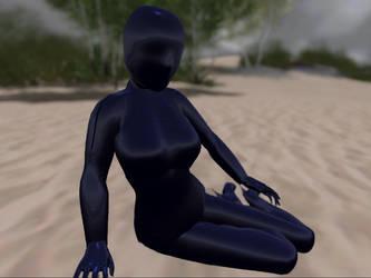 Latex beach (blue) by DaniiSz