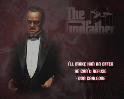 The Godfather by AITPromethius