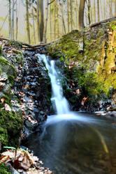 Small waterfall by TomasKuzel