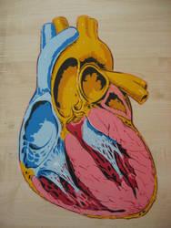Heart stencil by AdomasWillKill