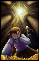 [Collab] Come away oh human child by Ink-Mug