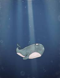 Lonely Wale by anowak