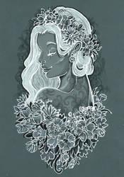 Shadow flower ... by Namtia