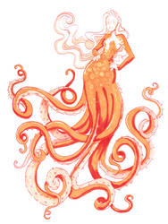 Lady Octopus by Namtia