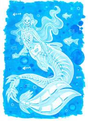 Ghost mermaid by Namtia