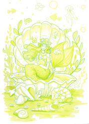 Shell mermaid by Namtia