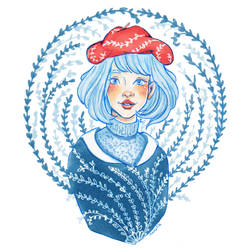 Lovesoup dtiys - Red beret by Namtia