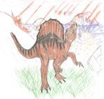 Spinosaurus by Hrod-Ward