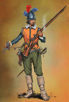 Dutch Musketeer sec. XVII by sandu61
