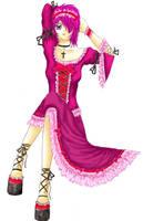 Anime CG, Gothic Lolita by mystical-doll