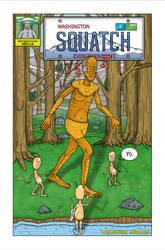 Squatch Poster by Gargantuan-Media