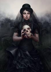 Her own funeral. by vinegar