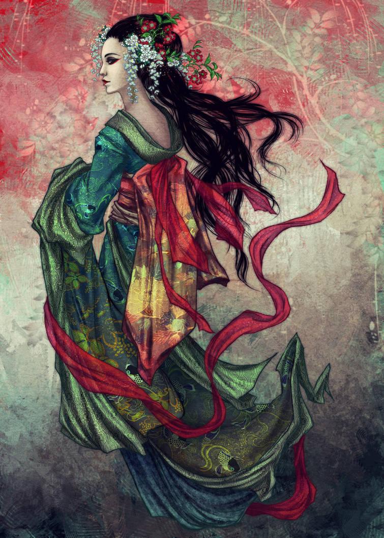 Geisha by vinegar