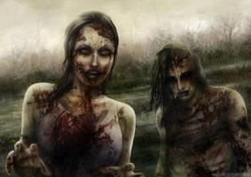 Zombie swamp by vinegar