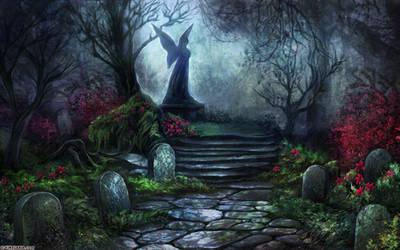 Cinders - cemetery by vinegar