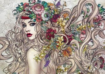 Flower Power by vinegar