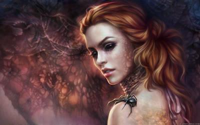 Black Widow by vinegar
