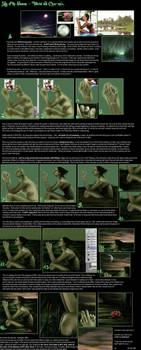 TUTORIAL - digital painting. by vinegar