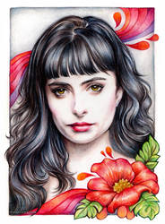 Krysten Ritter by vinegar
