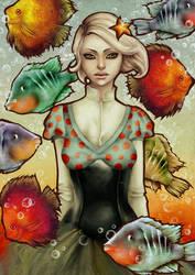 fish poetry by vinegar