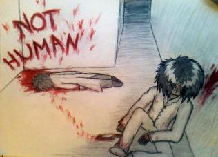 Inhuman by SasoriSempai