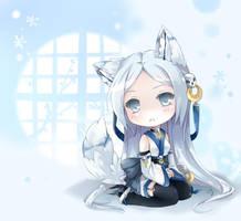 CM snow-mishibari by ninjinshiru