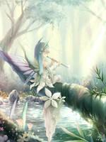 Mystic fountain vial by ninjinshiru
