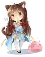 Karen cosplay by ninjinshiru