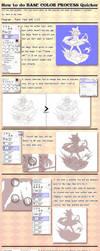 Tutorial - How to do Base Color Process quicker by ninjinshiru