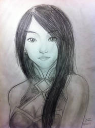 Feng Ming Sketch by Scarlet512