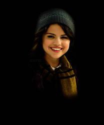 Selena Gomez as Hufflepuff by PoketJud
