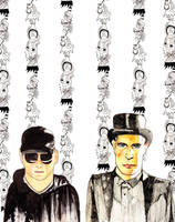 pet shop boys discarded by picasio
