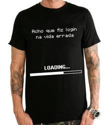 Camiseta Login Errado by 98inalu-X