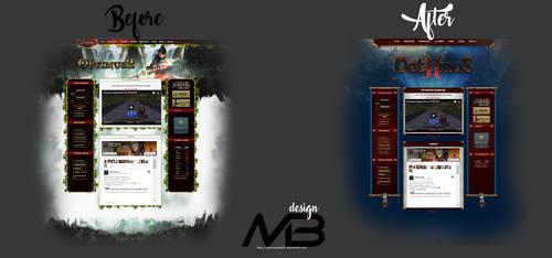 Metin2 Redesign Website by marcbogdan97