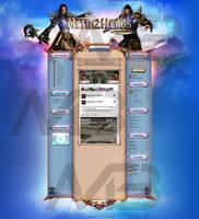 Metin2 Homepage DESIGN by marcbogdan97
