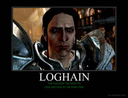 Loghain Motivational by HC-IIIX
