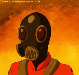 Pyro TF2 by TechnicalGerm8