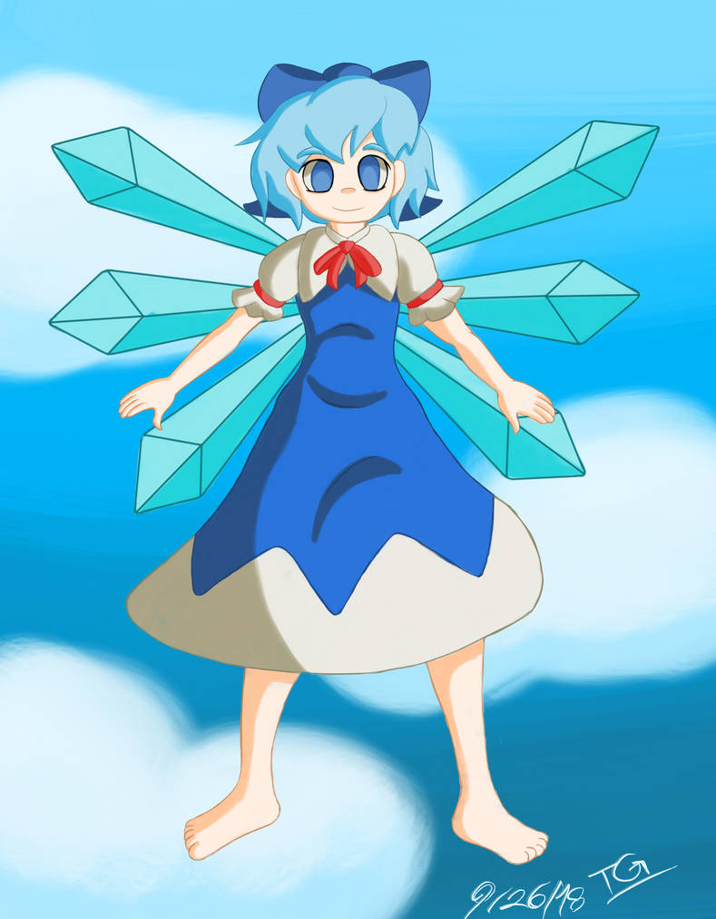 Happy Very Very Late Cirno Day! by TechnicalGerm8