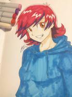 Cherry Rose- Anime OC by scootalootheotaku007